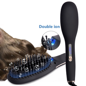 As Seen On TV Electric Ceramic Hair Straightening Brush