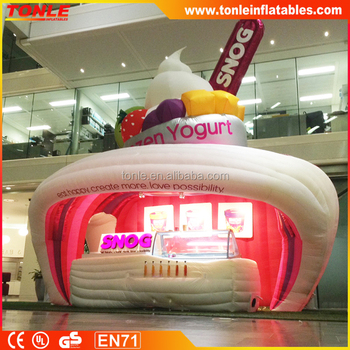 hot sale Lighting Inflatable concession stand/ inflatable mini led light display tent for sale & Hot Sale Lighting Inflatable Concession Stand/ Inflatable Mini Led ...