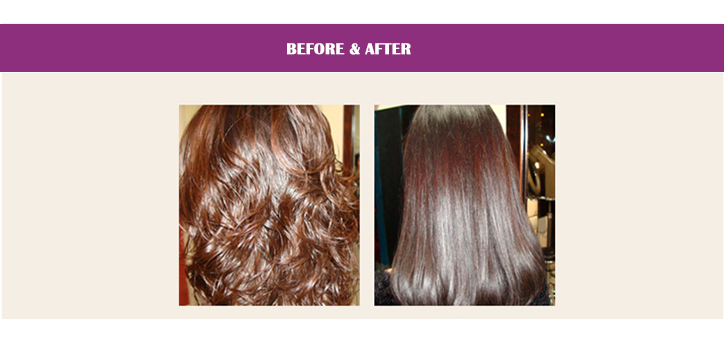 Touchcolor keratin hair treatment for straightening