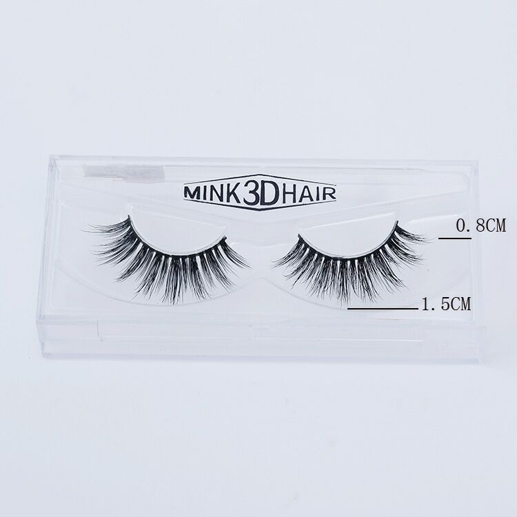 Hand Made Type and real human hair 3D silk fiber 100% mink fur animal Material magnetic eyelashes