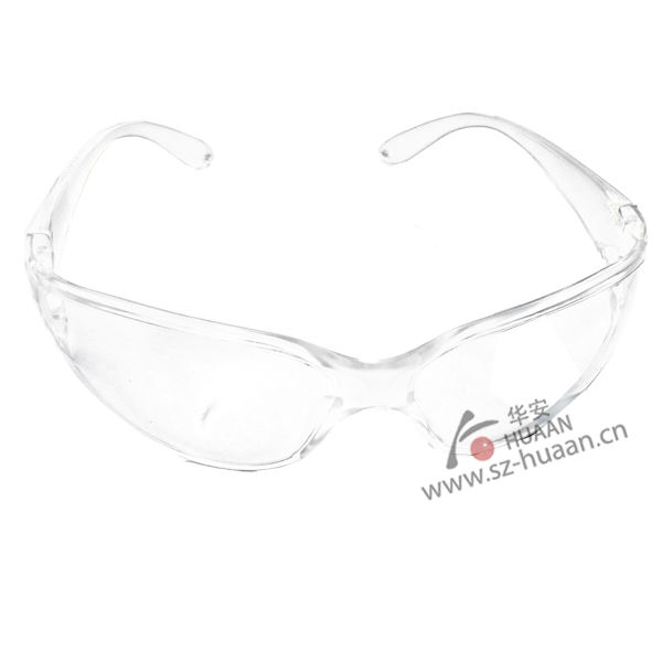 Anti scrape adjustable frame PC safety glasses