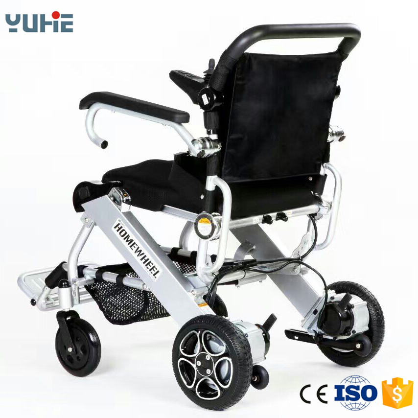 folding 4 wheel drive electric power wheelchair