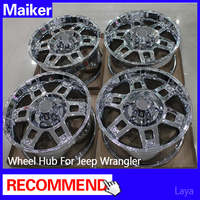 17 inch ABS Alloy wheels for jeep wrangler JK wheels rims from maiker