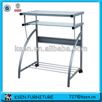Simple design metal Computer desk (KC-7777)