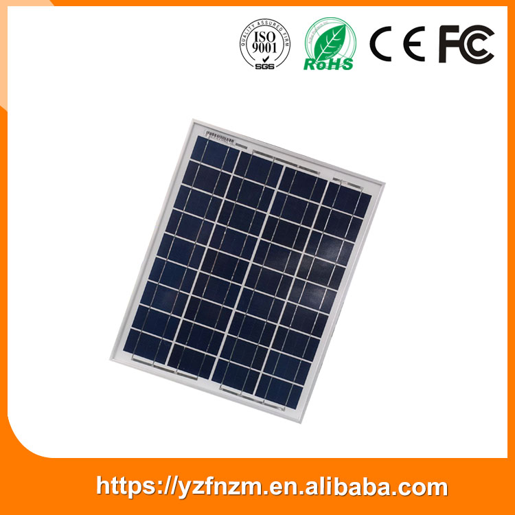 factory price 25w high efficiency solar panel with all certifications