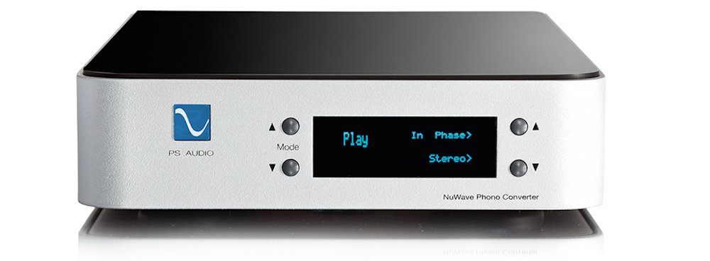 PS Audio NuWave Phono Converter - High End Phono Preamplifier and Analog to Digital Converter (Silver)