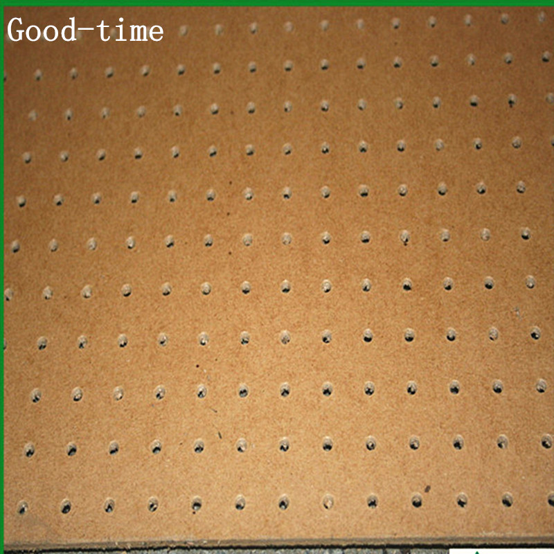 2.0mm to 6.0mm hardboard with holes