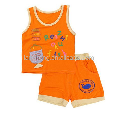 Printing Summer Baby Suits Online Baby Clothes Clothing