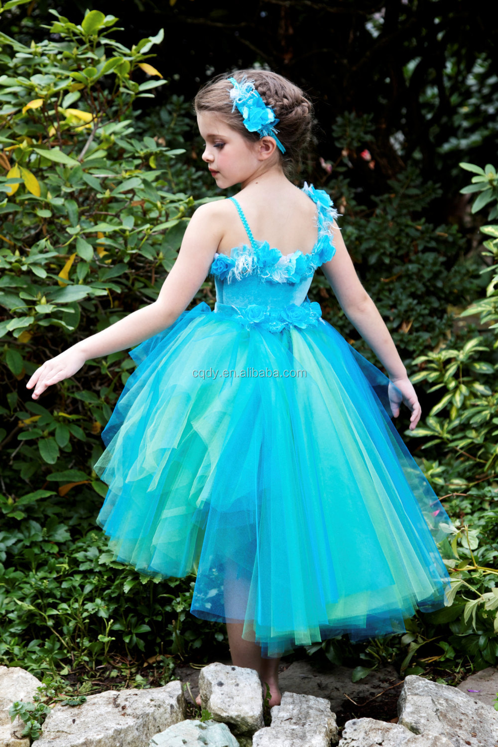 Baby Girls Fairy Dress Costume Butterfly Wing Glitter Colorful Girls ...