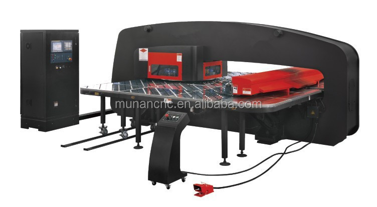 CNC Hydraulic Turret Punch/CNC Perforated Machine To Produce Steel Case