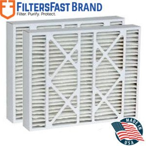 """FiltersFast Compatible Replacement for Goodman 9183940 MERV 11 Air Filter 2-Pack-16x22x5 (Actual Size: 15-3/8""""x21-7/8""""x5-1/4"""")"""