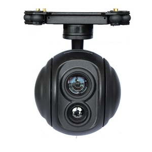 4K Drone thermal camera with 3-axis stabilizing gimbal IR heat zoom camera for uav drone robot