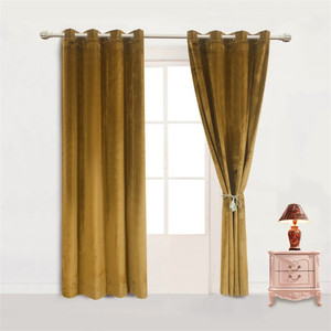 Luxury fancy velvet curtain for living room