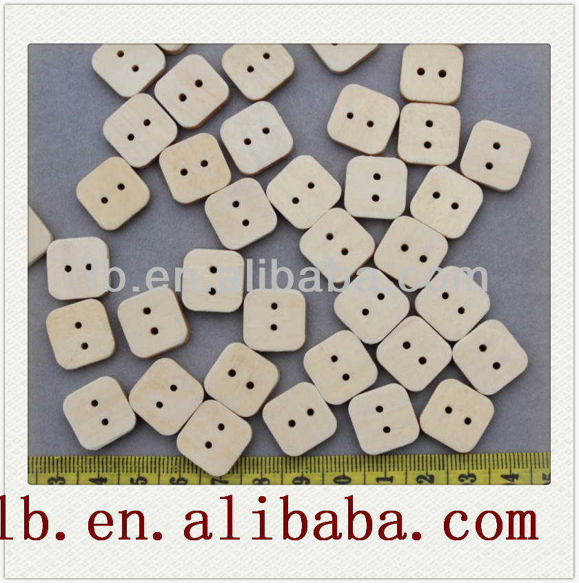 round colorful 2hole/4holes unique hot sale wholesale,natural fashion design oval/square wooden buttons