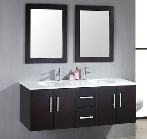 59 doppio lavello bagno in legno massello vanit gb s9550 - Doppio lavello bagno ...