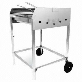 charcoal grill steel hibachi steel park grills - Stainless Steel Charcoal Grill