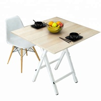 Wholesale Latest design outdoor furniture MDF board folidng dining table foldable camping desk