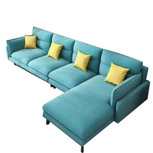Modern Fabric Sectional sofa set 7 seater  fashionable couch living room furniture factory supplier Customizable