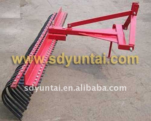 Rake cultivating machinery