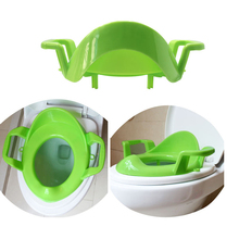 3 Colors Baby Toilet Trainer Seat Plastic Toilet Potty Chair Thickened Safety Infant Assistant Toilet Training Chair