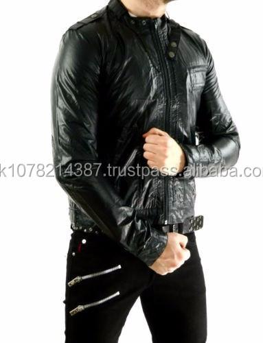 Neue 2015 Gothic Herrenjacke Vegi Leder Pvc vinyl Moto Motorrad Gothic Biker Steampunk Jacke Buy Herren Baumwolle Bondage Jacke Mantel Militärischen