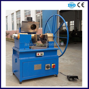 28mm to 60mm Steel wire rope cutting and tapering machine