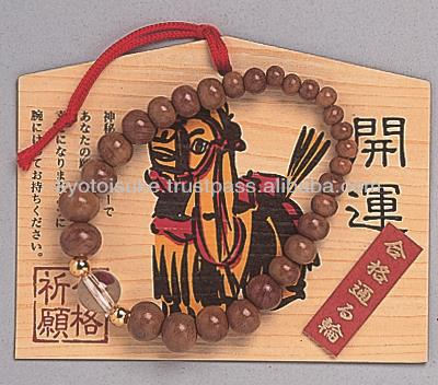 For kyoto tools japan Wish bracelet of Rock crystal ume tyee