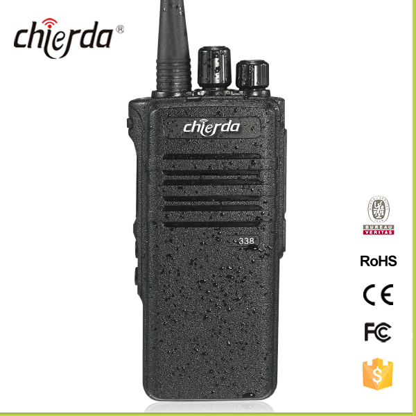 Low cost Portable Walkie Talkie IP67 Waterproof VHF/UHF Two Way Radio