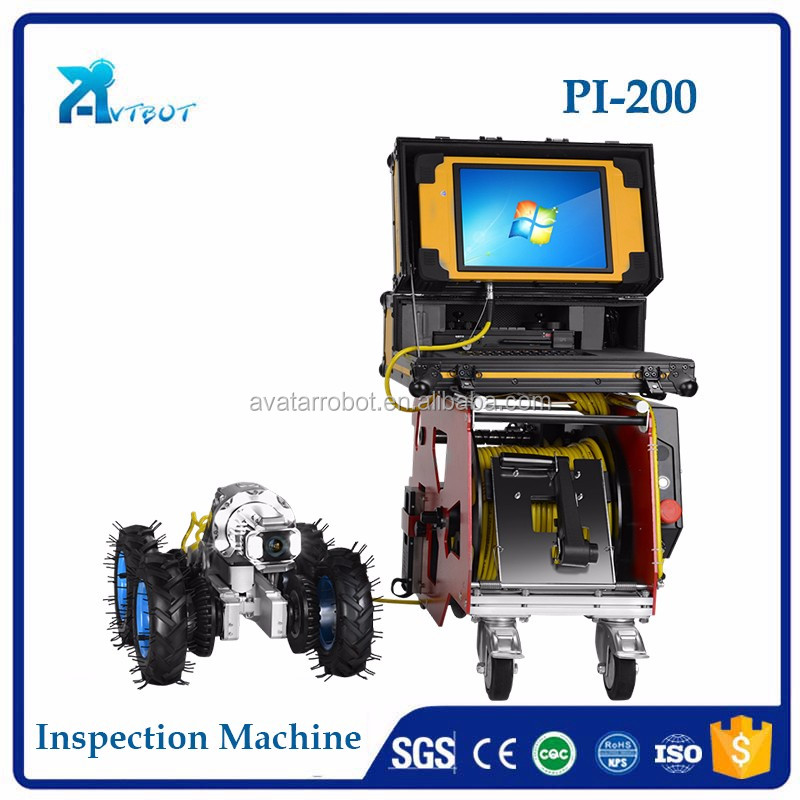 Endoscope/Borescope Pipe Inspection crawler camera
