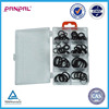 BSCI Approved factory price hot sale 60pcs assorted sizes rubber O-ring assortment kit with plastic PS box