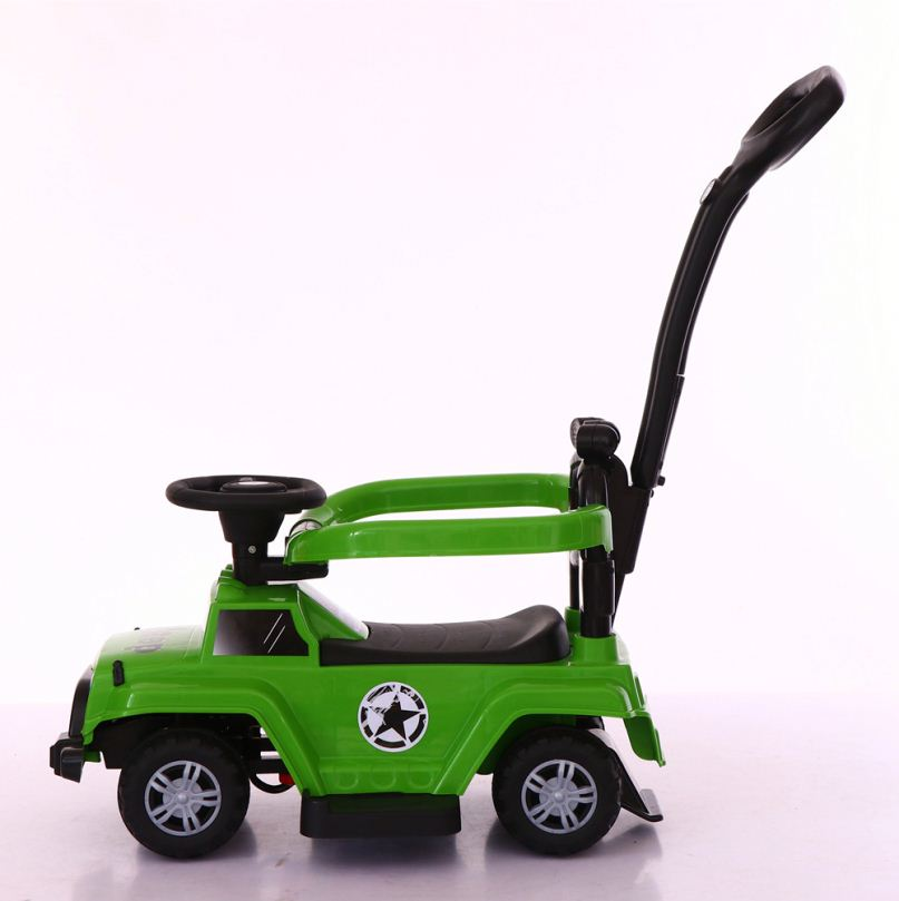 most popular plastic 3 in 1 push ride on car / sliding baby walking car with music / toddlers swing car wholesale price