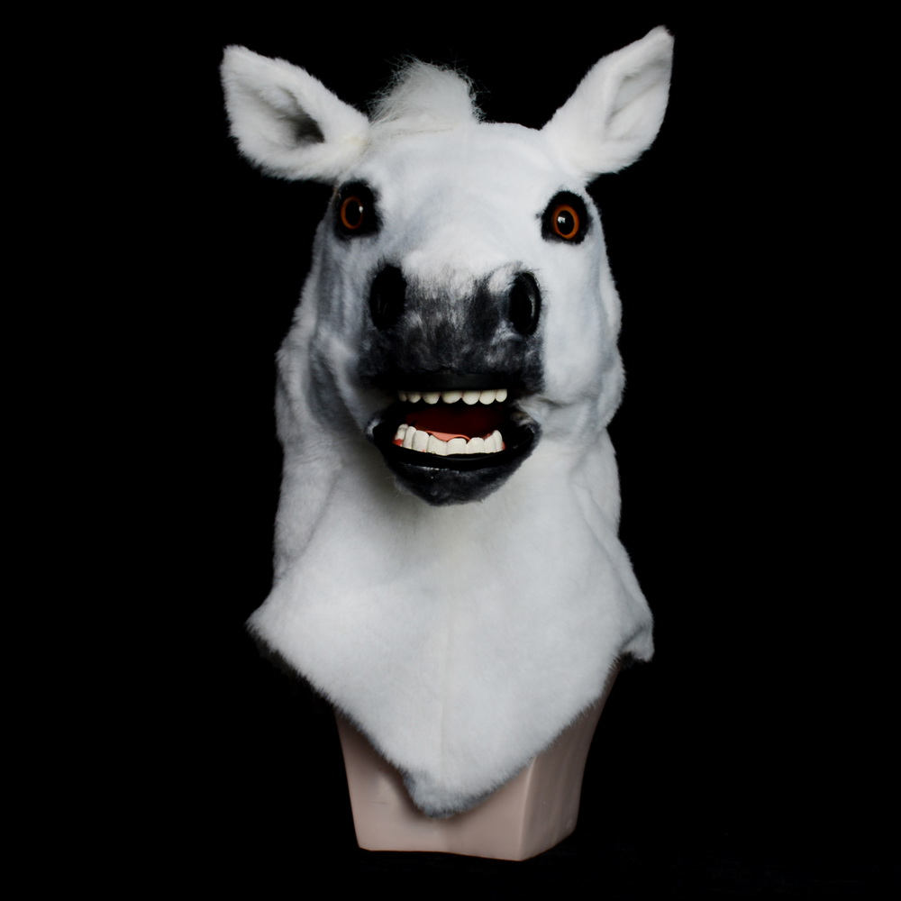 Moving Mouth Adult Mask Horse