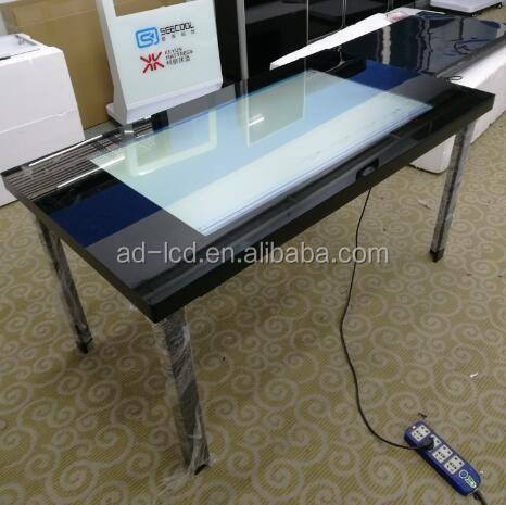 42 inch restaurant touch table waterproof windows android operate system LCD screen touch