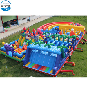 Challenge inflatable obstacle course /the beast course inflatable game