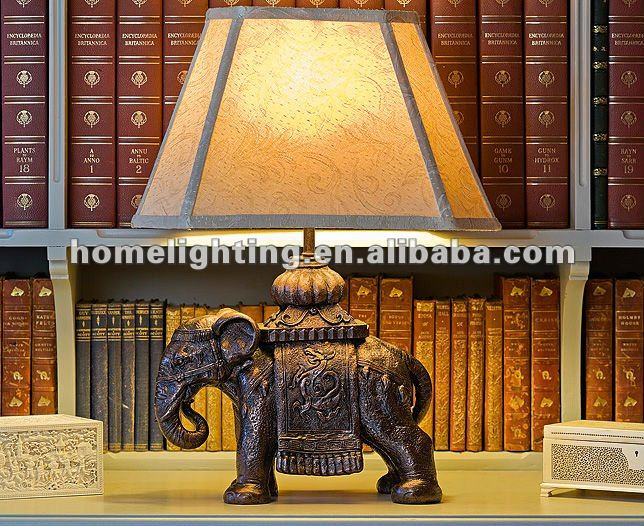 Antique Elephant Table Lamp (ps-208)