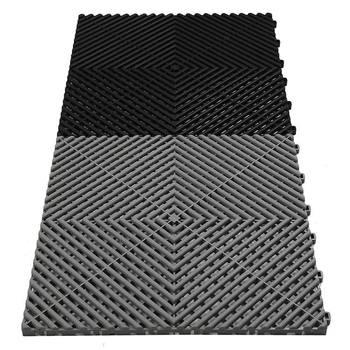 Easy Installation Garage Interlocking Pp Floor Tile Buy Garage