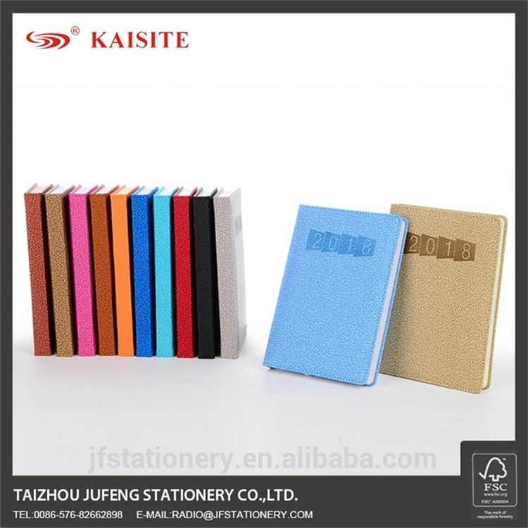 Colorful hardcover kustom catatan buku