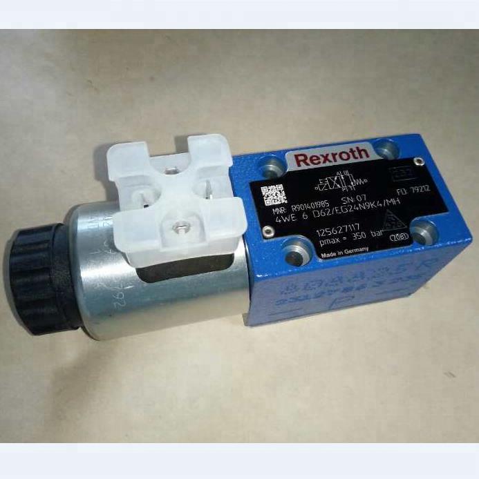 Электромагнитный клапан фурнитура гидравлические установки клапана REXROTH 3WE6B62/EG24N9K4 в наличии