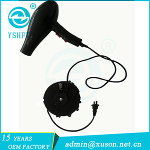 5M extension power cord cable reel for hair dryer and clothes dryer