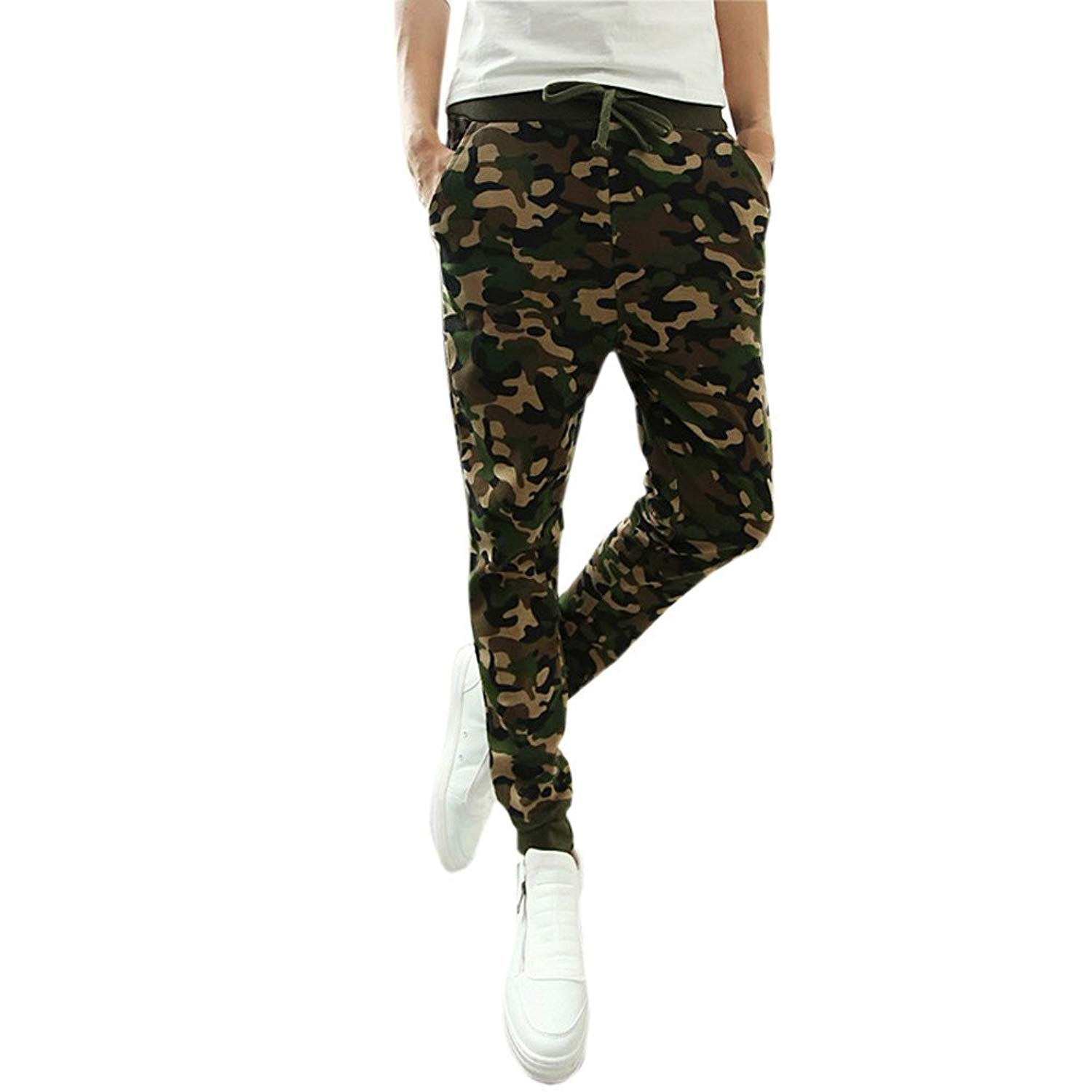 Sweatpants For Men,Clearance Sale-Farjing Mens Fashion Camouflage Trousers Pants Casual Pants Sweatpants