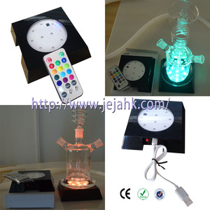 Square Color Changing usb led light for Hookah