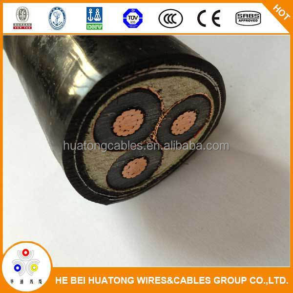 3 core 240mm2 xlpe insulated high voltage cable