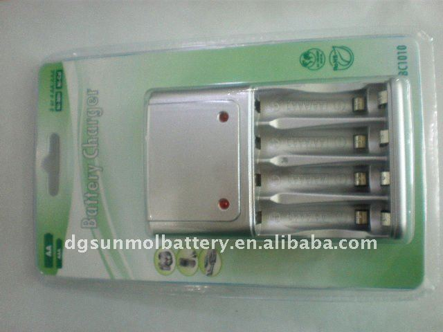 Beautiful AA/AAA battery charger