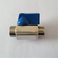 High Quality 304 Stainless Steel Mini Ball Valve for Water Oil Gas 1/8-1 inch
