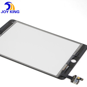 One year warranty Digitizer touch screen with original IC with home button for Ipad mini 3 glass touch panel