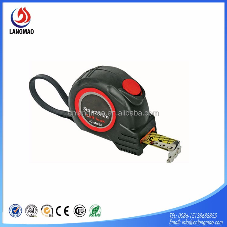 Professional rubber jacket round tape measure best gift for engineers