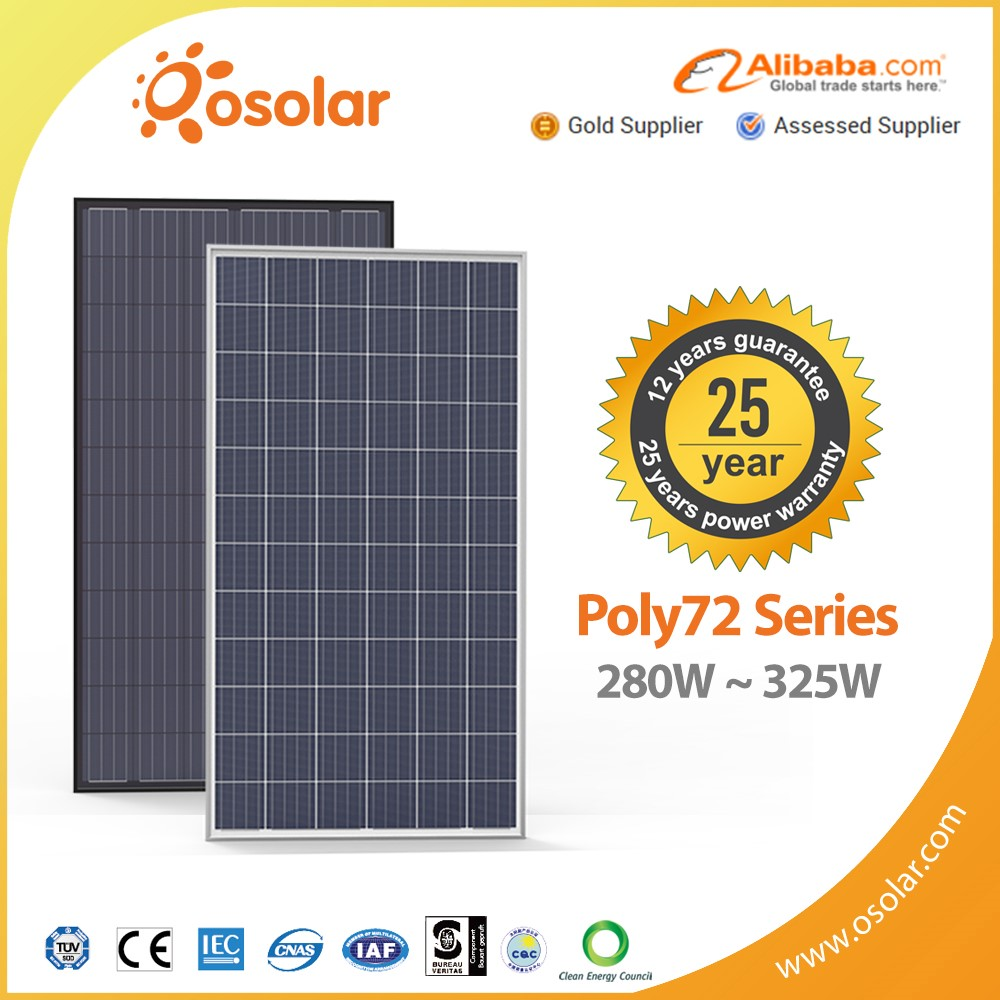 the thin film flat roof multi crystalline panel solar 250w