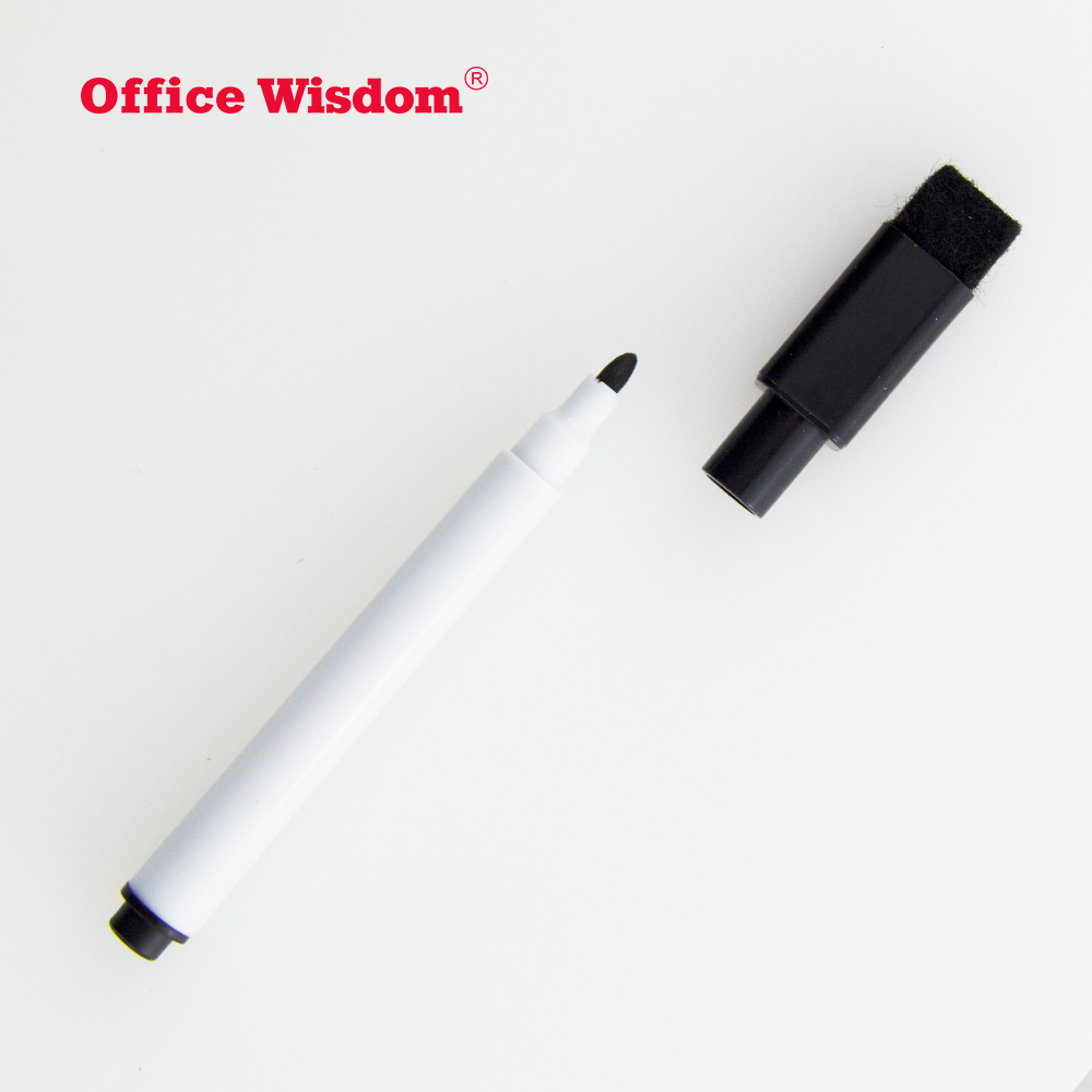 whiteboard marker box pieces Blister card eraser marker with big whiteboard maker pen Combination packages
