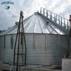 Flat and hopper steel plate silos grain silos prices