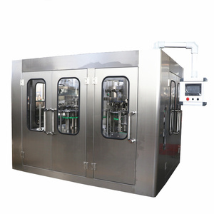 Counter pressure 3 in 1 soda water bottling machine